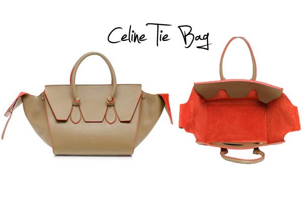 Celine Mini Tie Bag Replica